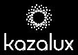kazalux white logo