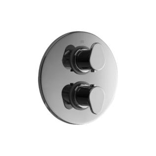 Cisal Alma Sichtteile Unterputz Brause-Thermostatmischer