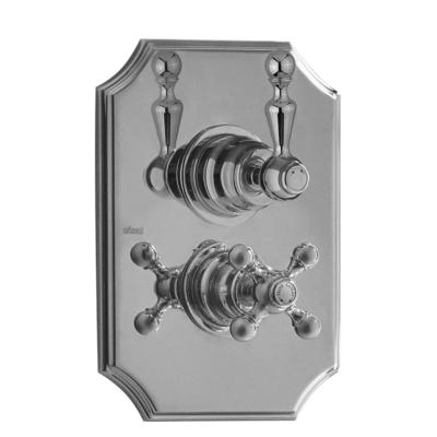 Cisal Arcana Sichtteile Unterputz Brause-Thermostatmischer