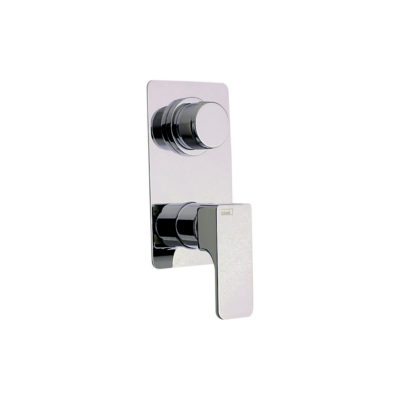 Cisal Cubic Sichtteil Unterputz 3 Wege Einhand-Brausemischer