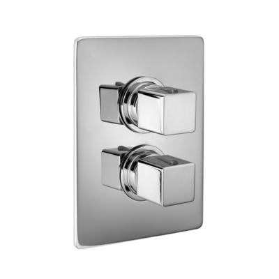 Cisal Cubic Sichtteile Unterputz Brause-Thermostatmischer