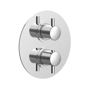 Cisal Nuova Less Sichtteil  3 Wege Brause-Thermostatmischer