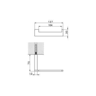 Cisal Quad Papierrollenhalter