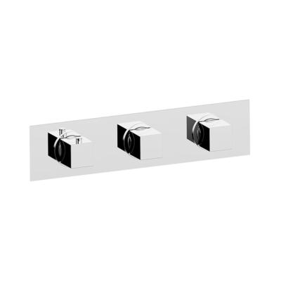 Cisal Roadster Accent Fertigteilset Unterputz Brause-Themostat. 2 Funktionen