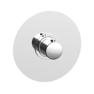 Cisal Slim Sichtteil Unterputz Brause-Thermostatmischer