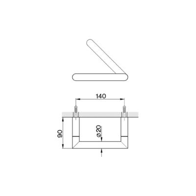 Cisal System Papierrollenhalter