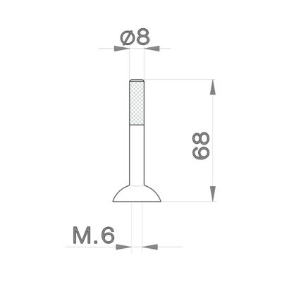 Cisal Ersatzteile Hebel 'LS' Joystick